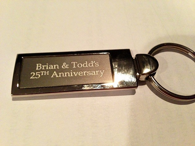 Key chain Brian and Todd