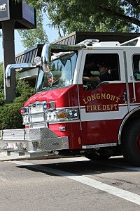 Longmont Fire Department Truck