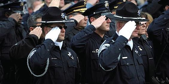 Peace Officers Salute