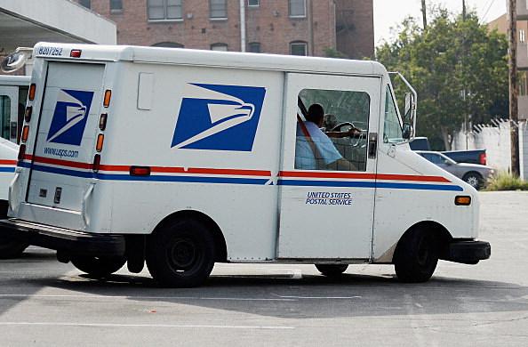 U.S. Postal Service Truck