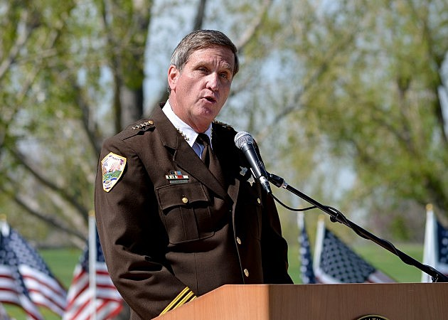 Weld County Sheriff John Cooke