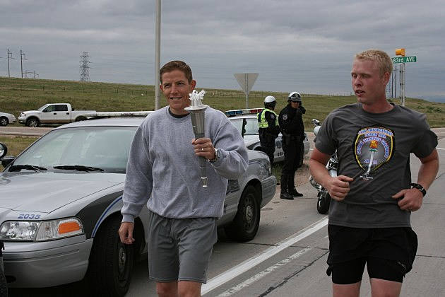 Colorado Law Enforcement Torch Run for Special Olympics 2012