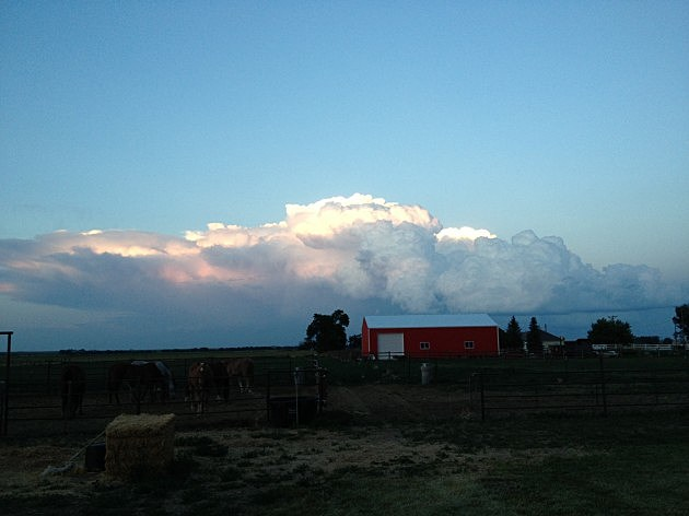 Cloud and Barn