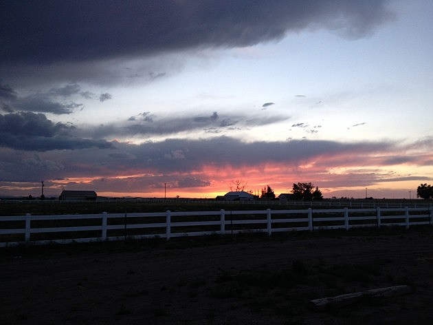 Ault, CO Sunset