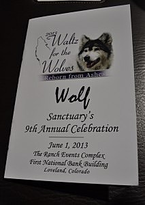 9th Annual Waltz For The Wolves Program