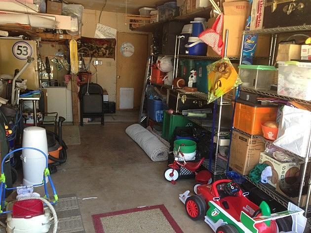 garage clean