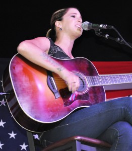 Cassadee Pope at Boot Grill In Loveland For New From Nashville Series
