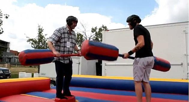 Jousting Todd vs Butch at The Jam