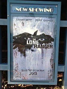 Lone Ranger Movie Poster