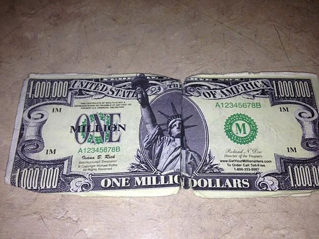 Million Dollar Bill Front