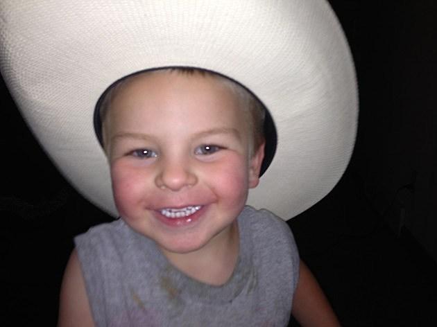 Zander In Cowboy Hat