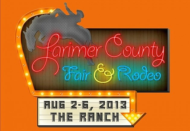 Larimer  County Fair & Rodeo Sign