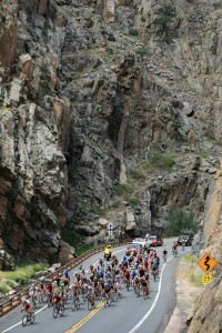 USA Pro Challenge - The Narrows - Big Thompson Canyon, CO