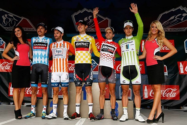 USA Pro Challenge Race Leaders