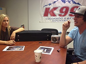 American Young visited K99 on Monday, August 19th, 2013