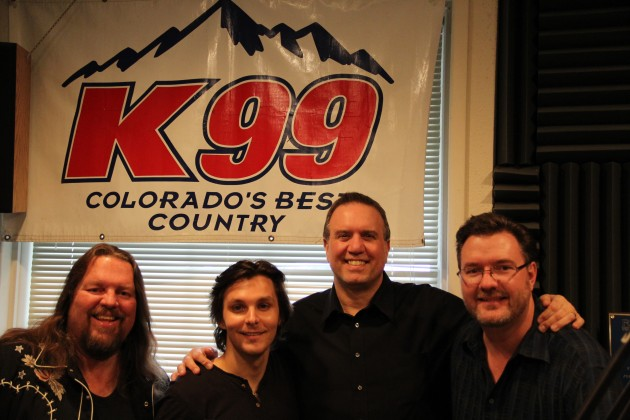 Charlie Worsham with Brian Gary, George King, and Todd Harding during 2013 28 Hours of Hope