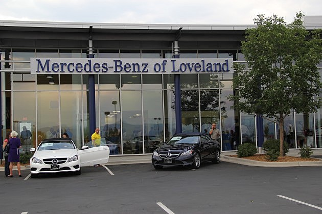 Loveland mercedes benz dealership celebrates grand opening for Mercedes benz dealer northern blvd