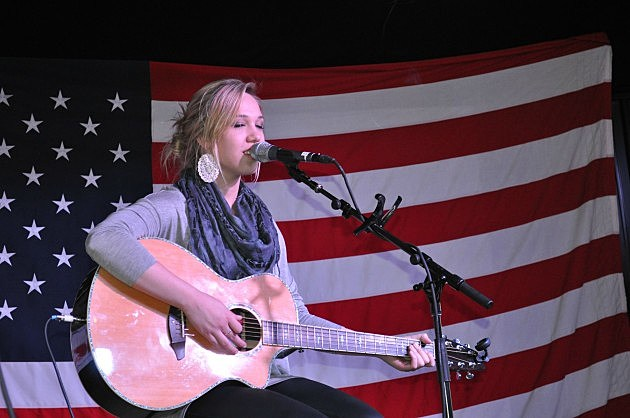 Morgan Frazier at the Boot Grill in Loveland