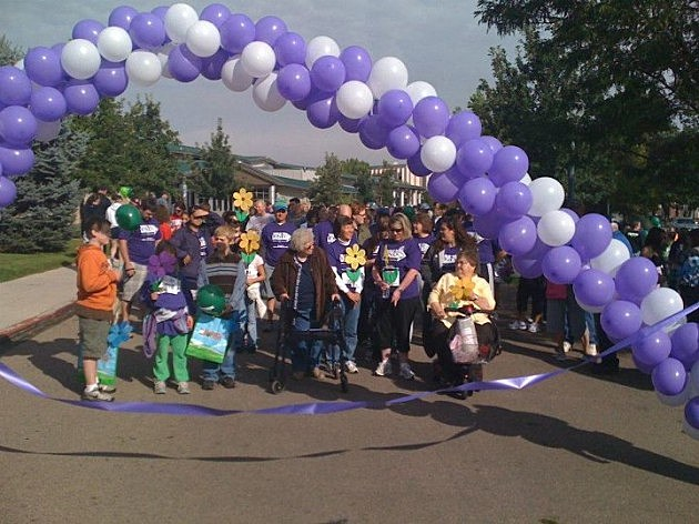 Walk to End Alzheimers 2012