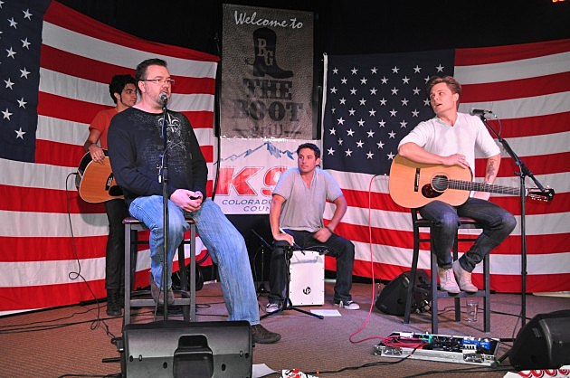 Todd Harding intro for Frankie Ballard at Boot Grill in Loveland