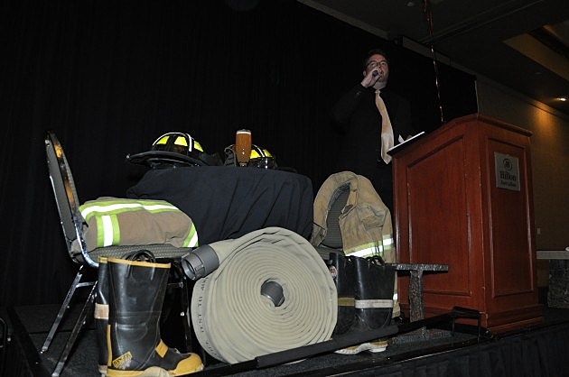 Todd Harding hosts FireFighter Ball to Benefit Terry Farrel FireFighter's Fund