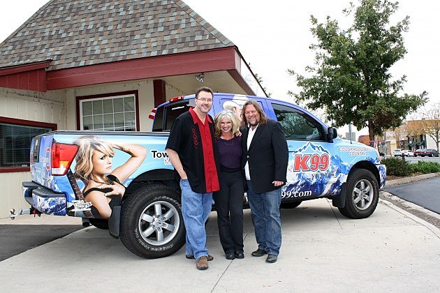 Todd, Susan, and Brian in front of K99 Truck