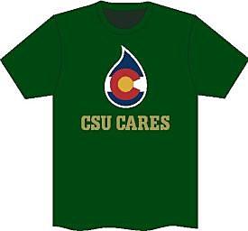 CSU Cares T-shirt