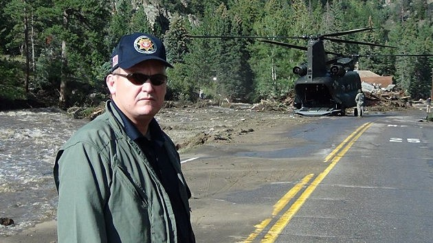 Larimer County Sheriff Justin Smith In Big Thompson Canyon