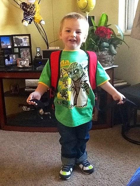 Zander First Day of School