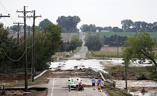 Heavy Rain Fuels Major Colorado Floods