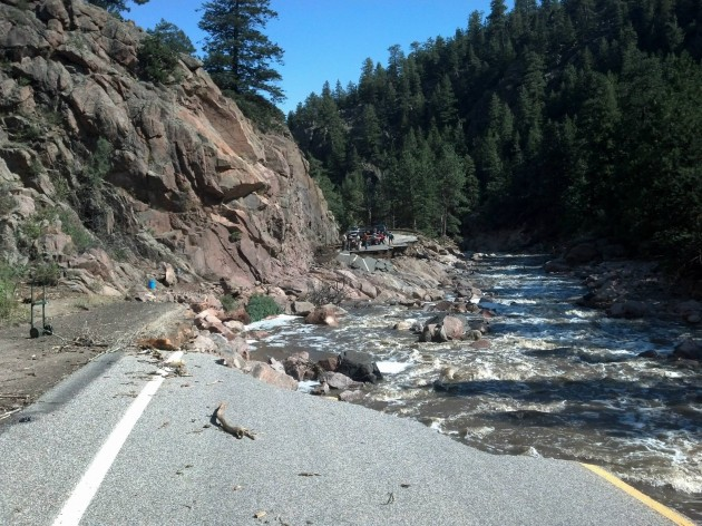 Flood Damage to Highway 34