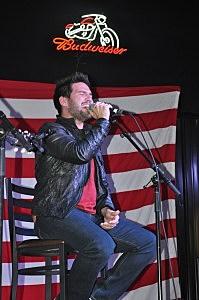 Shay Mooney of Dan + Shay at Boot Grill in Loveland