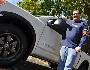 Todd with the Nissan Titan 4x4