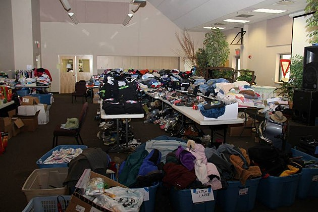 Donated Clothing - Clothing is no longer needed