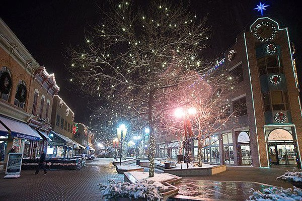 Downtown Fort Collins Holiday Lighting Ceremony Friday Night