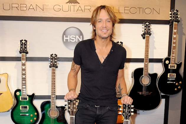 Keith Urban Announces The World Premiere Of The URBAN Guitar Collection - De