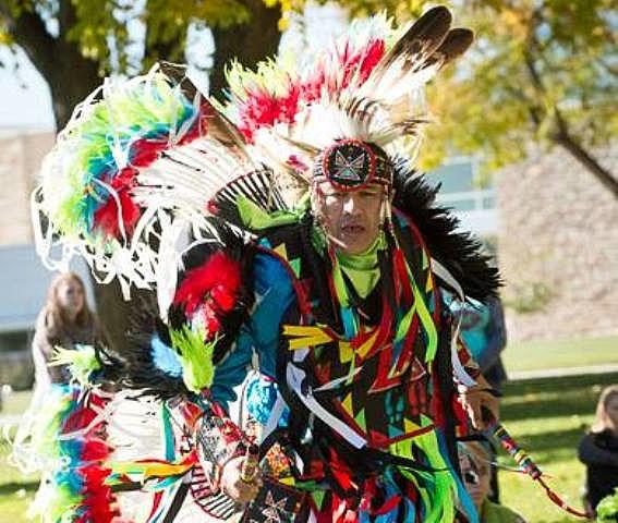 Native American Dancer at CSU