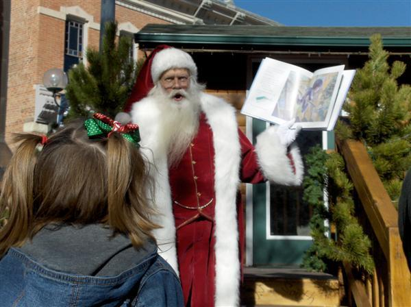 Storytime With Santa in Old Town Fort Collins