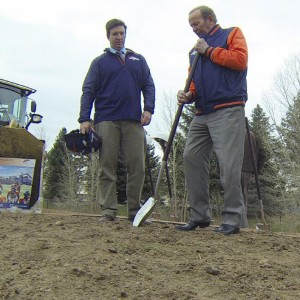 Broncos owner Pat Bowlen Breaks ground on new facility