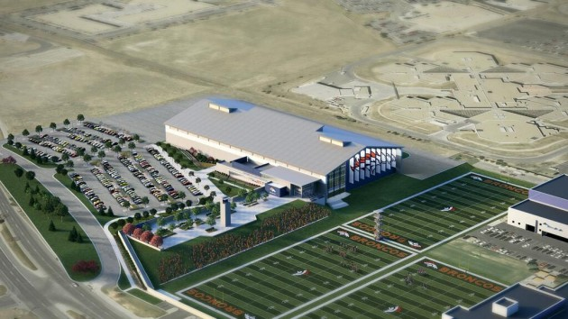 Artist Vision For New Broncos Facility