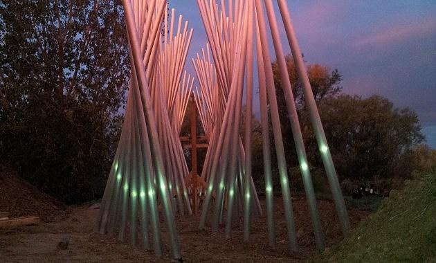 Rain Symphony Sculpture