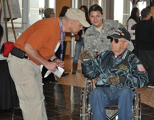Honor Flight Korean War Veteran
