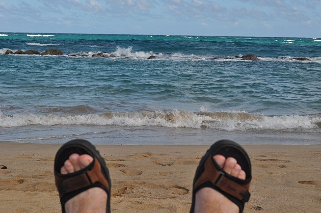 Todd's View From the Beach at St. Kitts