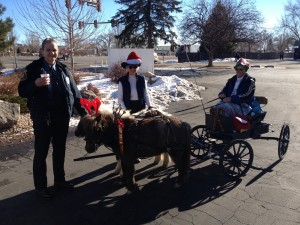 Mini hitch helps Larimer County Sheriff's Posse Deliver Toys For Santa Cops