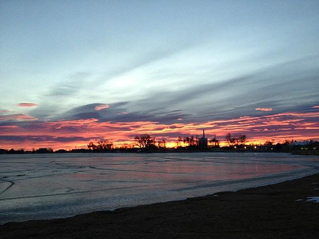 Sunrise December 18th, 2013 Windsor, CO