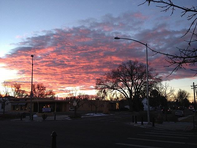 Sunrise December 30th, 2013 Windsor, CO