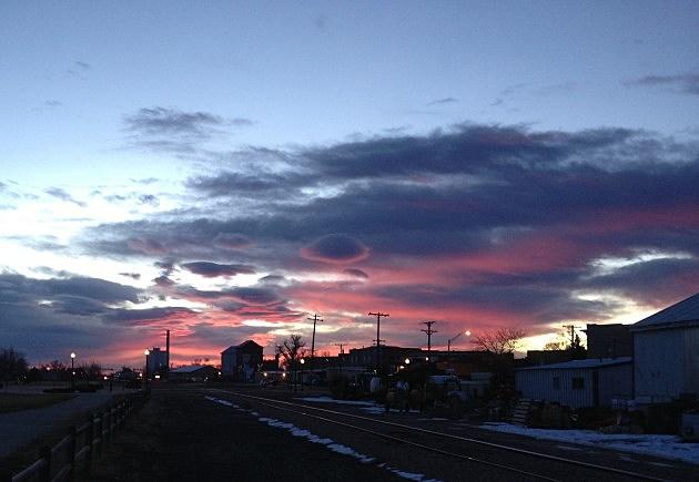 Sunrise December 31st, Windsor, CO