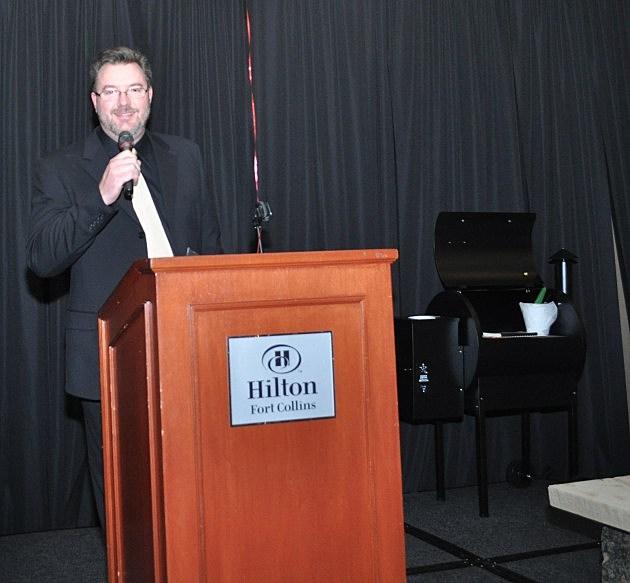 Todd Harding hosting Firefighters Ball