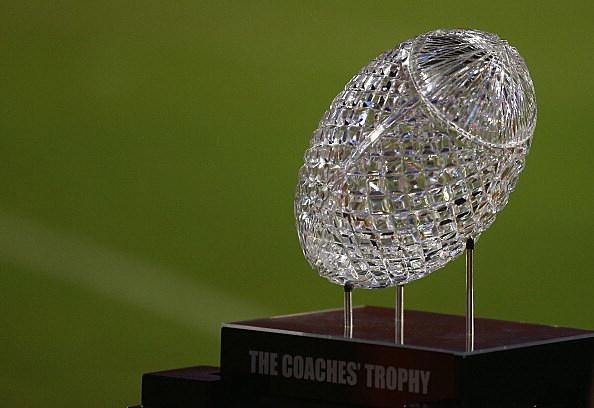 BCS National Championship Trophy