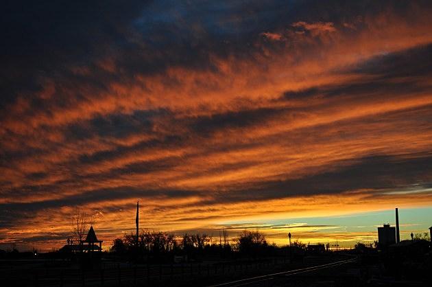 Sunrise February 6th, 2013 Windsor, CO